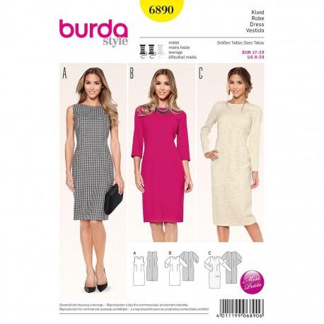 Patron Burda Style 6890 Robe 17/23
