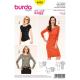 Patron Burda Style 6910 Tshirt et Robe 34/46