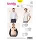 Patron Burda Style 6931 Chemise 44/60