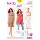 Patron Burda Style 6956 T-shirt et Robe 34/46