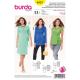 Patron Burda Style 6957 Robe Croisée et T-shirt Croisée 34/46