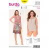 Patron Burda Style 6969 Robe et Haut 34/46