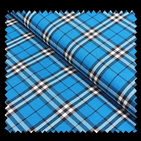 Tissu Ecossais Bleu