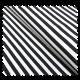 Tissu Saint-Tropez Noir Blanc