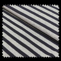 Tissu Jersey Melange Gris