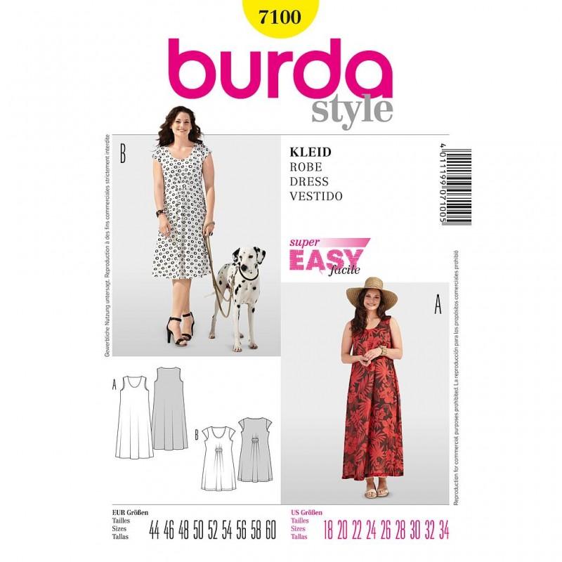 Patron Burda Style 7100 Robe 44/60