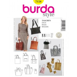 Patron Burda Style 7158 Sacs