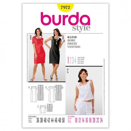 Patron Burda Style 7972 Robe 38/50