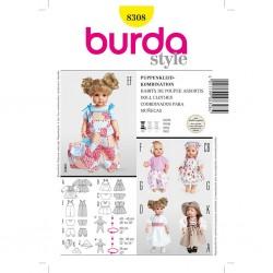 Patron Burda Créative 8308 Coordonnés M/L