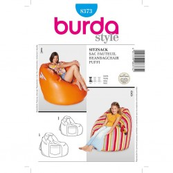 Patron Burda Créative 8373 Fauteuil Sac