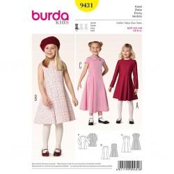 Patron Burda Kids 9431 Robe 116/146CM