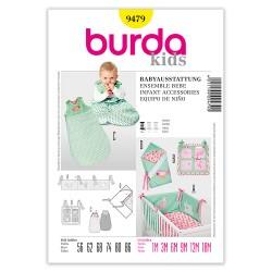 Patron Burda Kids 9479 Ensemble bébé 56/86