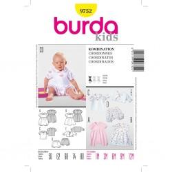 Patron Burda Kids 9752 Ensemble 56/80