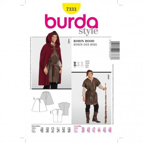 Patron Burda Style 7333 Historique Robin des Bois 48/58
