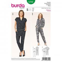Patron Burda Style 6702 Combinaison 34/44