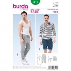 Patron Burda Style 6719 Pantalon 46/56
