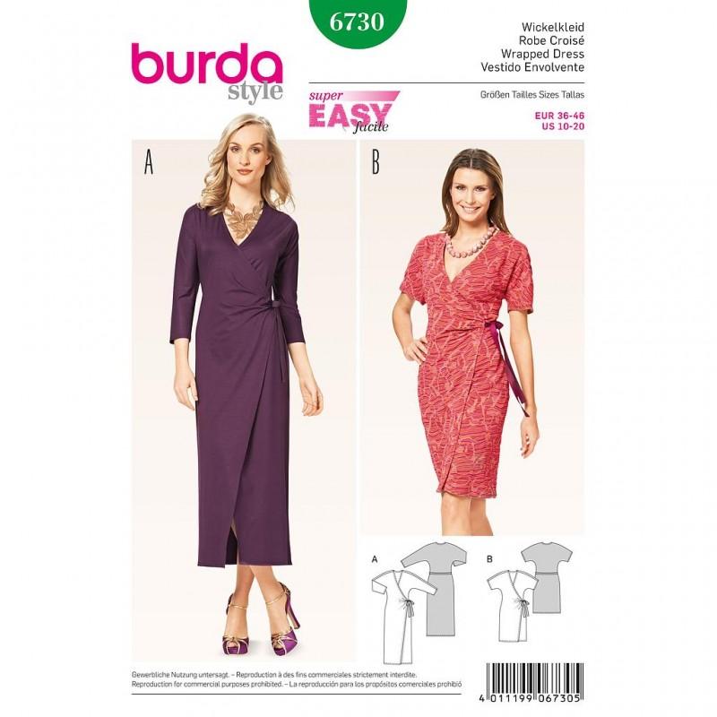 Patron Burda Style 6733 Jupe 36/46