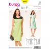 Patron Burda Style 6627 Robe 34/44