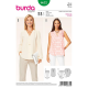 Patron Burda Style 6632 Tunique 34/44