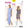 Patron Burda Style 6639 Robe 36/46