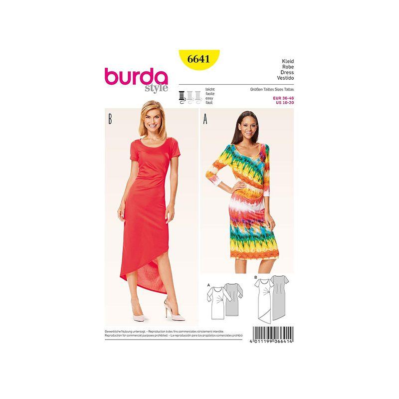 Patron Burda Style 6641 Robe 36/46