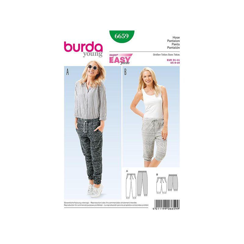 Patron Burda Style 6659 Pantalon 34/44