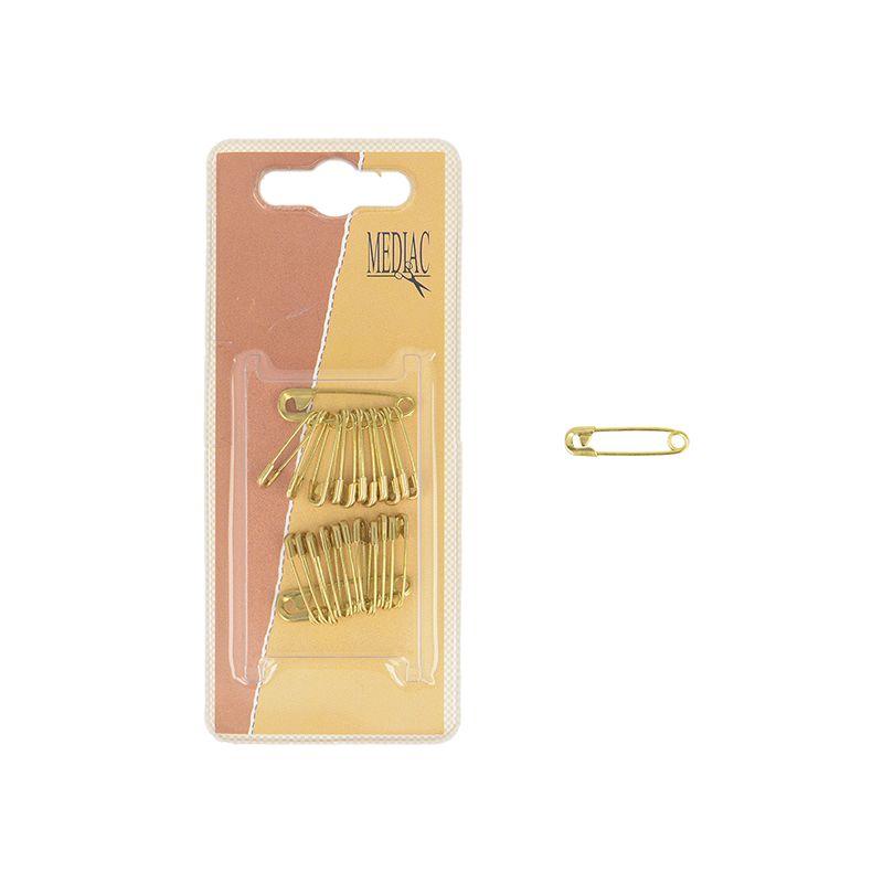 Epingles de Sûreté - Laiton - 19 mm