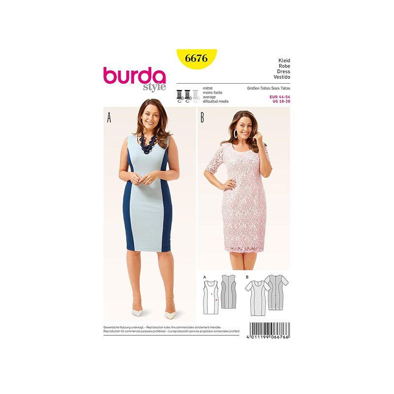 Patron Burda Style 6676 Robe 44/54