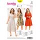 Patron Burda Style 6680 Robe 46/60