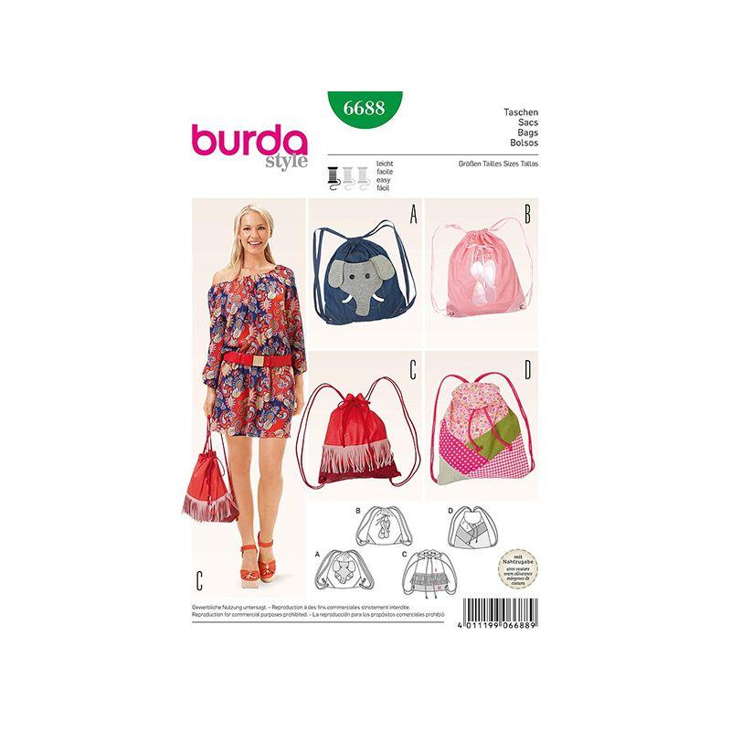 Patron Burda Style 6688 Sacs