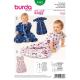 Patron Burda Kids 9382 Sacs de Couchage 62/92