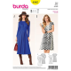 Patron Burda Style 6562 Robe 34/46