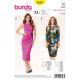 Patron Burda Style 6563 Robe 34/46