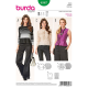 Patron Burda Style 6567 Blouse 34/44