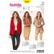 Patron Burda Style 6569 Veste taille 34/46