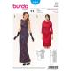 Patron Burda Style 6585 Robe Taille 34/44