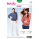 Patron Burda Style 6590 T-Shirt Taille 34/46