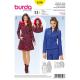 Patron Burda Style 6596 Manteau & Veste 32/44