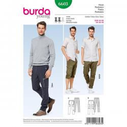 Patron Burda Style 6603 Pantalon 46/58