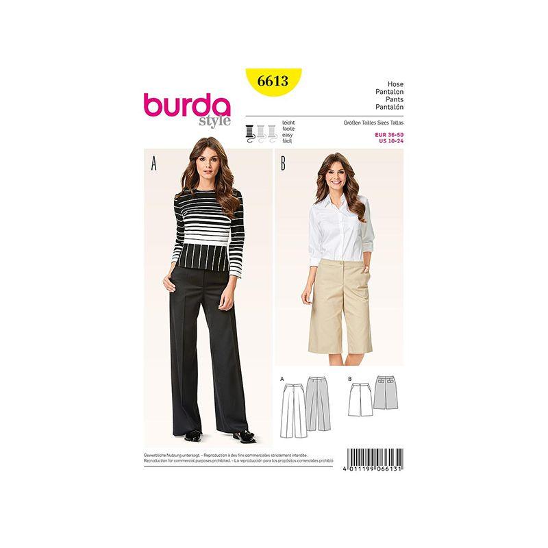 Patron Burda Style 6613 Pantalon 36/50