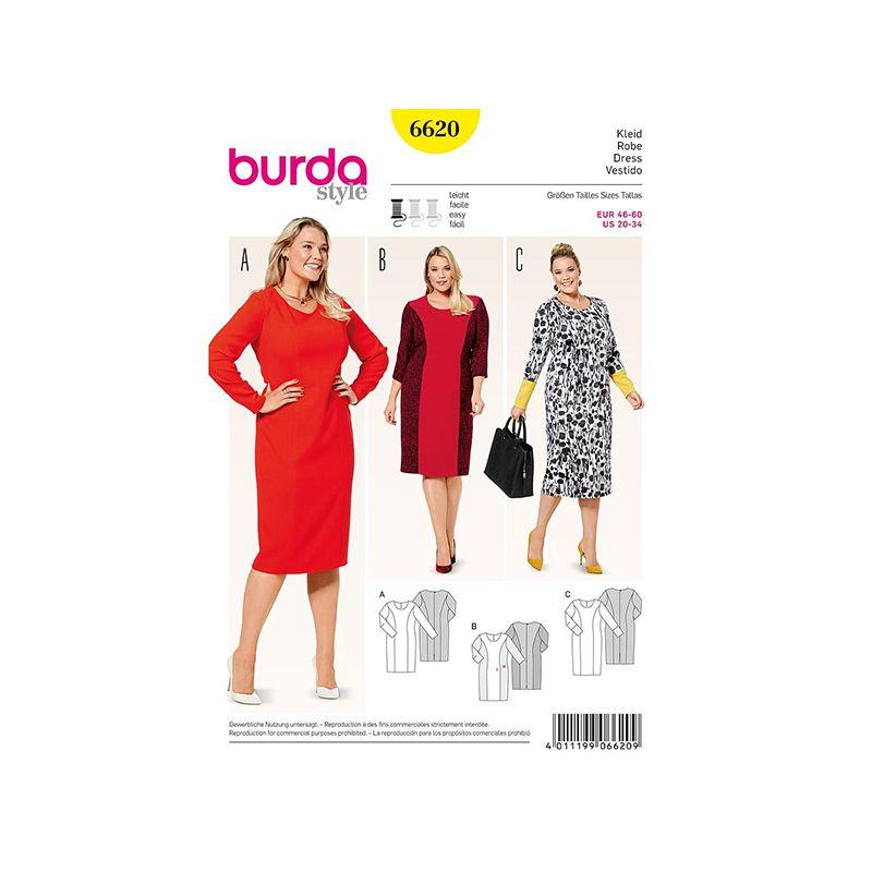 Patron Burda Style 6620 Robe 46/60