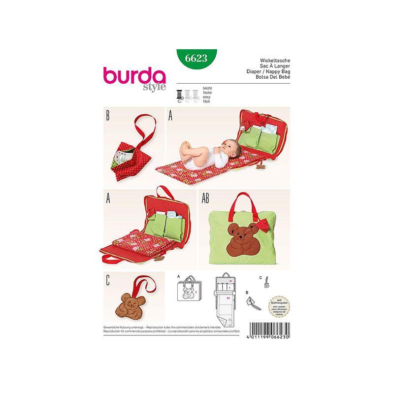 Patron Burda Style 6623 Sac a Langer