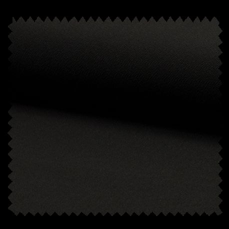 Tissu Jersey Crepe Uni Noir