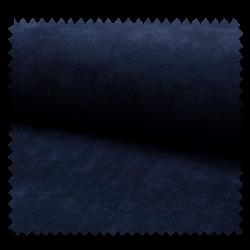 Tissu Veloutine Uni Navy