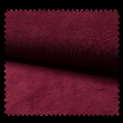 Tissu Veloutine Uni Bordeaux