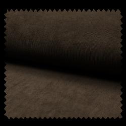 Tissu Veloutine Uni Choco