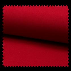 Tissu Burlington Uni Rouge