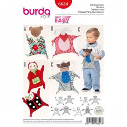 Patron Burda Style 6624 Doudou