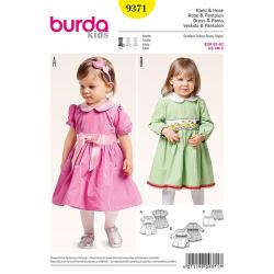 Patron Burda Style 9371 Robe et Pantalon 62/92