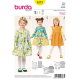 Patron Burda Style 9373 Robe 86/116